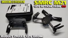 Lightweight 220g SMRC M21 GPS Optical Flow EIS Drone Unboxing & Overview