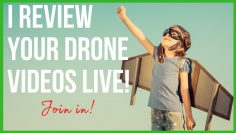 I edit LIVE a some #DJI #drone footage for a #shorts