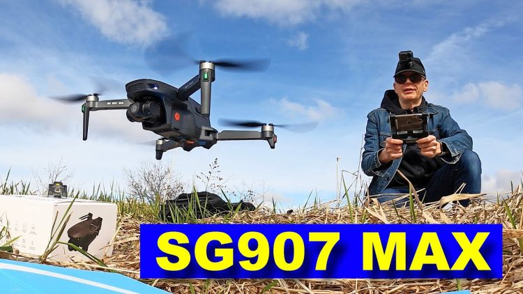 SG907 MAX – Low Cost Drone with BIG Features (3 axis Camera Gimbal) – Review