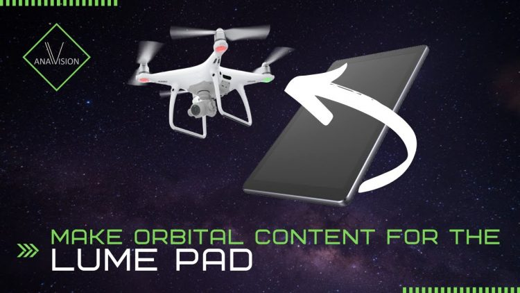 How To: Drone Orbital Video using Lightfield Studio for the Lume Pad (flying DJI Mavic Pro)