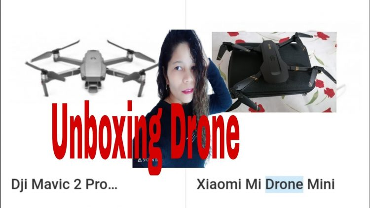 Unboxing Drone