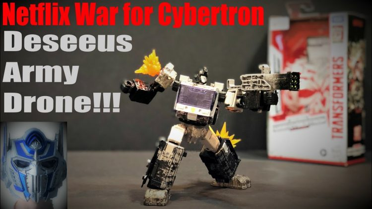 Transformers War for Cybertron – Deseeus Army Drone Review
