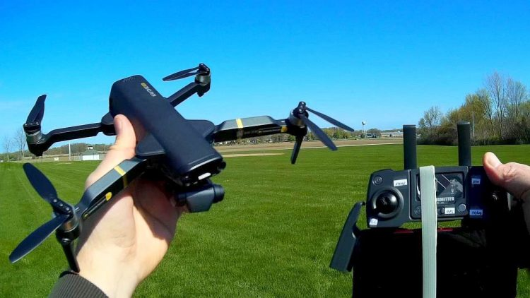 Kai One Pro 3 Axis Brushless Gimbal Drone Flight Test Review