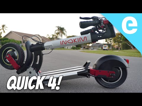 25 MPH Inokim Quick 4 electric scooter review