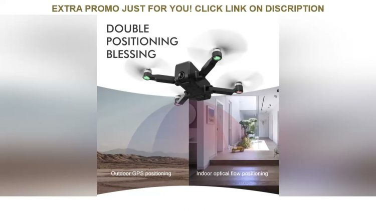 Review ICAMERA2 RC Drone GPS 4K HD Dual Camera Professional Aerial Photography WIFI FPV Foldable Qu