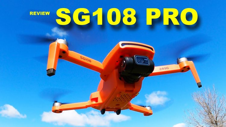 SG108 PRO is a small Camera Drone with plenty of features – Review