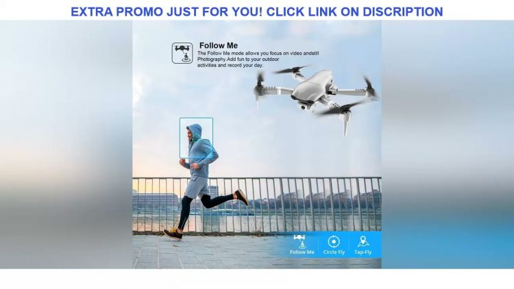 Review 4DRC F3 drone GPS 4K 5G WiFi live video FPV 4K/1080P HD Wide Angle Camera Foldable Altitude