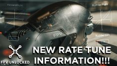 Updated DJI FPV Drone Rate Tunes – New Info Released!