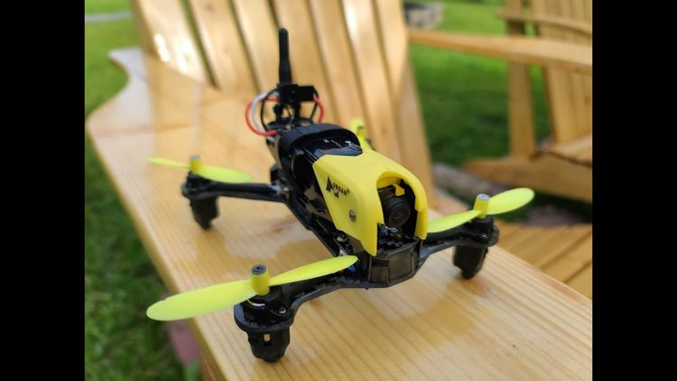 Hubsan X4 H122D Storm. Racing FPV drone unboxing and review