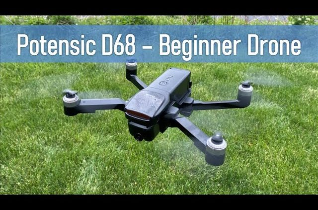 Potensic D68 | 4K GPS Drone for $250