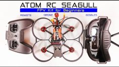All in One FPV Drone Kit – Eachine ATOMRC Seagull – Review