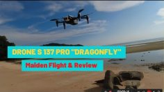 S137 PRO DRAGONFLY DRONE || MAIDEN FLIGHT & REVIEW||
