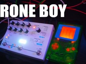 Drone Boy – New Game Boy Drone Synth Review and Demo (with Microcosm)